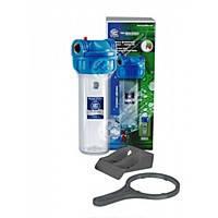 Магистральный корпус - фильтр (колба) Aqafilter для холодной воды