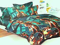 Детское постельное белье полуторное Железный человек подростковый
