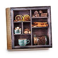 Шкатулка-книга на магните с 9 отделениями XL Банка кофе