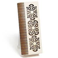 Шкатулка-пенал с гравировкой Цветы
