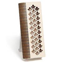 Шкатулка-пенал с гравировкой Каштан