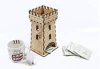 Чайный домик «Волшебная башня» из фанеры, фото 1