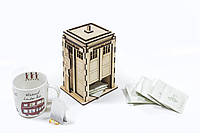 Чайный домик Police Box из фанеры, фото 1