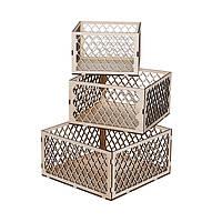 Набор коробочек Трио-Сетка