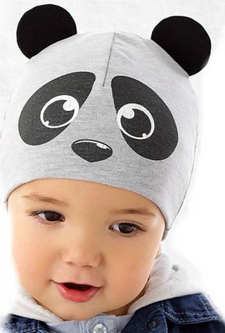 Демісезонна модна шапочка для хлопчика від Marika Польща, фото 2