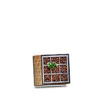 Шкатулка-книга на магните с 1 отделением Зерна кофе
