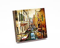 Шкатулка-книга на магните  slim  с 9 отделениями Венецианская улочка