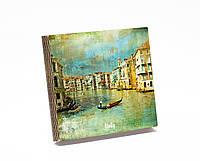 Шкатулка-книга на магните  slim  с 9 отделениями Чарующая Венеция
