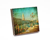 Шкатулка-книга на магните  slim  с 9 отделениями Венецианская пристань