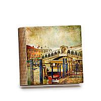 Шкатулка-книга на магните с 9 отделениями Вид с пристани, фото 1