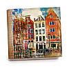 Шкатулка-книга на магните с 9 отделениями XL Волшебный Амстердам