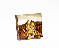 Шкатулка-книга на магните  slim с 4 отделениями Замок в Эльцбурге