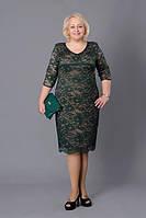 Гипюровое нарядное платье Донна М262