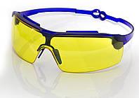 Очки жёлтые (код 808) поворотные удлинённые дужки, стекло поликарбонат VITA