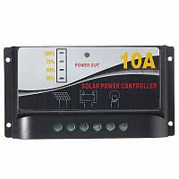 Контроллер заряда 10A 12 В (автомат) индикация уровня заряда батареи в %