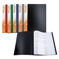 D1540-05 Дисплей-книга 40 файлів А4, зелена