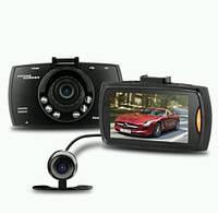 Відеореєстратор з двома камерами G30B ЧОРНИЙ SKU0000627, фото 1