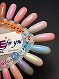 """Гель-лак Nice for you """"Cool"""" С-12 (жемчужный, голубой), 8.5 мл, фото 6"""