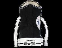 Кеды мужские Converse All Star высокие черно-белого цвета топ реплика, фото 3