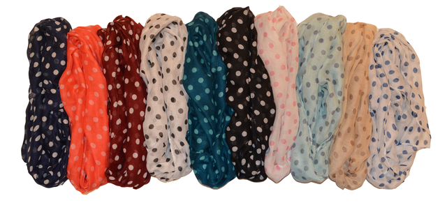 Весенний шарф снуд Алира бирюзовый 4