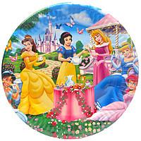 """Тарілки паперові дитячі """"Принцеси"""""""