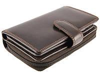 Женское портмоне Visconti HT33 Madame коричневое