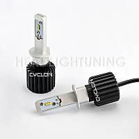 Светодиодная автомобильная лампа головного света Cyclon LED H1 5000K 4000Lm PH type 2, фото 1