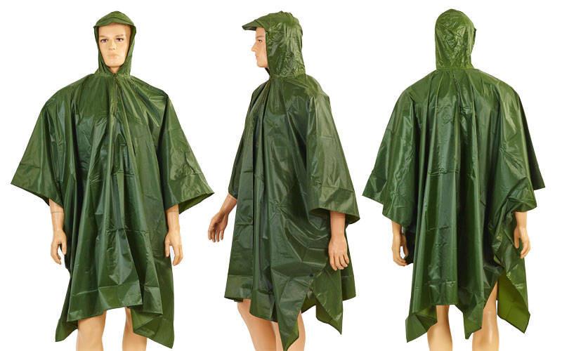 Дощовик плащ-намет BC-4833