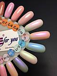 """Гель-лак Nice for you """"Cool"""" С-12 (жемчужный, голубой), 8.5 мл, фото 4"""