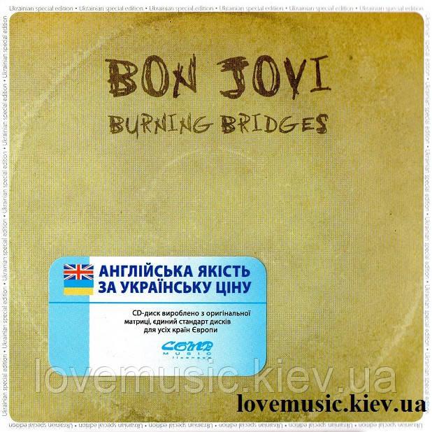 Музичний сд диск BON JOVI Burning bridges (2015) (audio cd)
