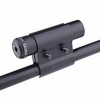 Лазерный целеуказатель ЛЦУ с креплением на ствол, красный луч, лазерные прицелы, на оружие