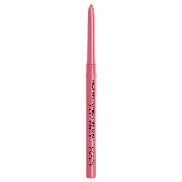 NYX MPL 21 Retractable Lip Liner Soft Pink - Автоматический карандаш для губ, 0.3 г