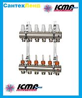 Коллектор для теплого пола на 3 контура Icma