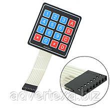 Матричная мембранная клавиатура 4x4 для Arduino