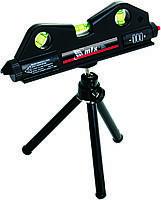 Рівень лазерний, 170 мм, 150 мм штатив, 3 вічка// MTX