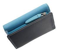 Женское портмоне Visconti RB39 Biola голубое