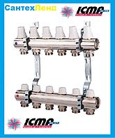 Коллектор для отопления  на 2 контура Icma