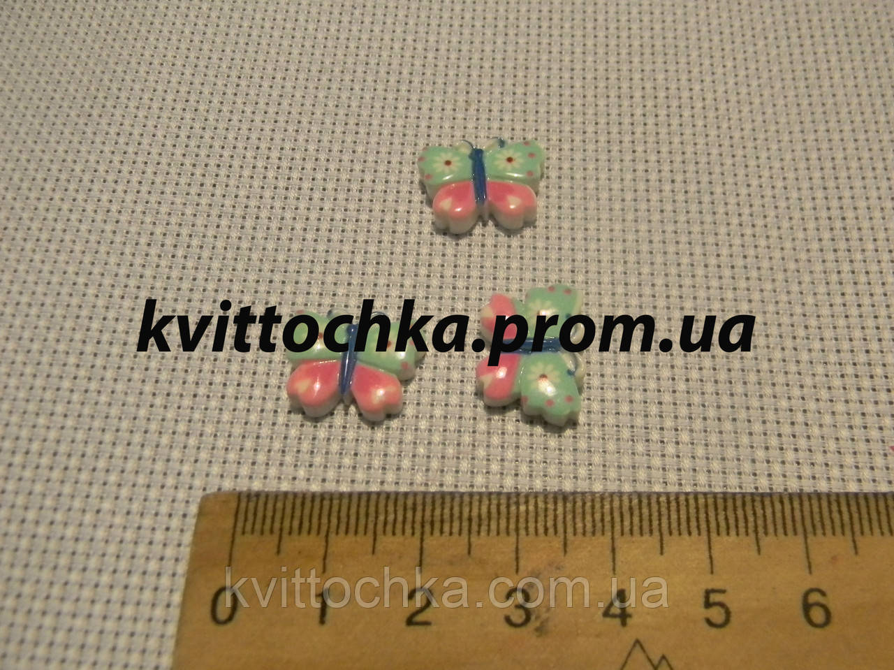 "Серединка-кабошон ""Мотылёк"" 3"