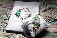 Свадебный набор (папка, подушечка для колец)