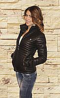 Весна осень 2017 г женская куртка CHANEL черная