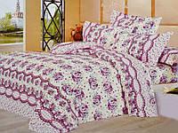 Полуторное постельное белье Цветы