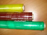 Пленка ПВХ стретч пищевая от 8 до 14 мкм цветная