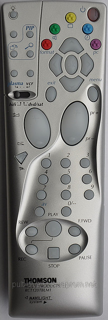 Пульт на телевизор  THOMSON. Модель RCT-120TBLM1-