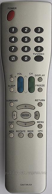 Пульт на телевизор SHARP. Модель GA473WJSA