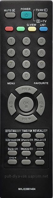 Пульт к телевизору LG. Модель MKJ33981404