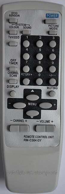 Пульт к телевизора JVC. Модель RM-C364GY