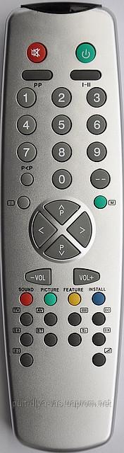 Пульт  телевизора SANYO. Модель 11UV19-2 RC-2000  (3040) (11UV30-1)