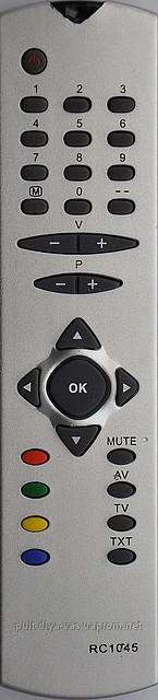 Пульт на телевизор  RAINFORD. Модель RC-1045