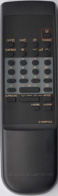 Пульт с телевизора SHARP. Модель G1069PESA
