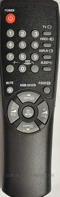 Пульт для телевизора SAMSUNG Модель AA59 -10107N